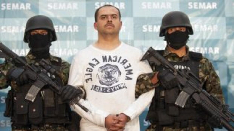 Sergio Antonio Mora Cortes, alias 'El Toto', uno de los sicarios integra...