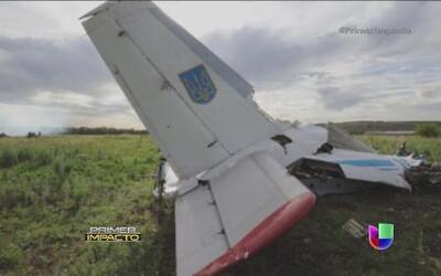 El vuelo de la muerte fue derribado deliberadamente