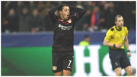 Hernández y el Bayer Leverkusen no tuvieron su mejor noche.
