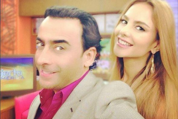 """""""La #selfie con el super talentoso @adalramones hoy en @despiertaamerica..."""