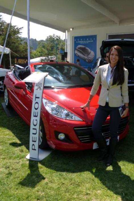 El estilo y elegancia lo puso la firma francesa Peugeot