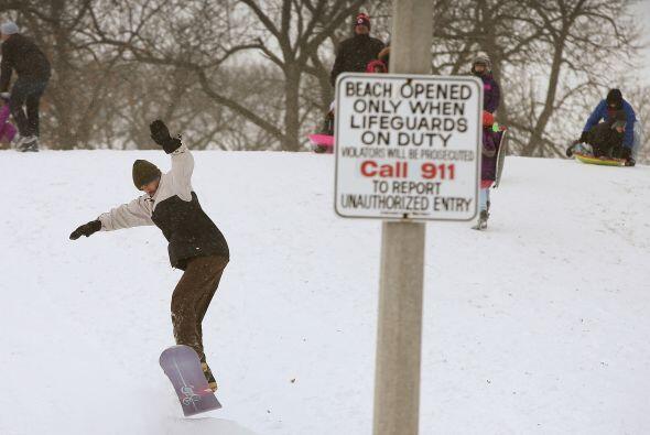 Este viernes, los azotes del clima podrían no permitir a la gente salir...