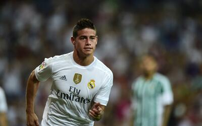 James no podrá jugar con el Real Madrid por lesionarse con Colombia.