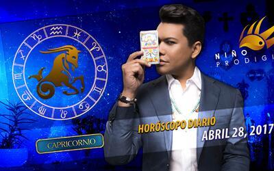 Niño Prodigio - Capricornio 28 de abril 2017