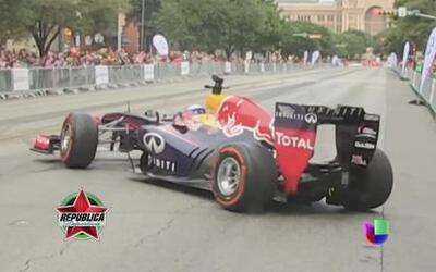 Sebastian Vettel y Daniel Ricciardo toman las calles