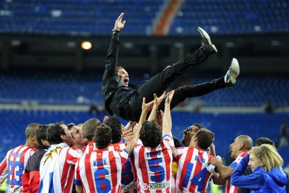 El técnico de la semana es el argentino Diego Pablo Simeone, timonel del...
