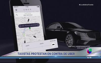 La oposición de los transportistas a Uber en Puerto Rico
