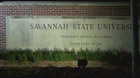 Alerta por robo en la Universidad estatal de Savannah