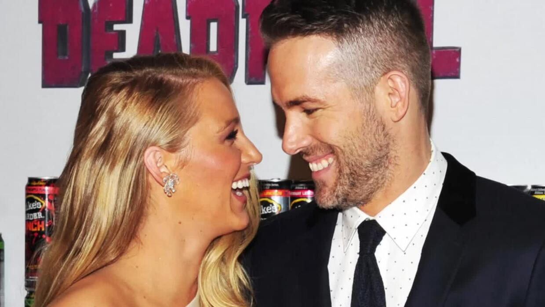 Ryan Reynolds le envía un mensaje gracioso de cumpleaños a Blake Livel