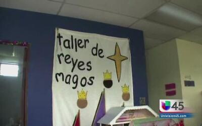 Puerto Rico, uno de los talleres de los Reyes Magos