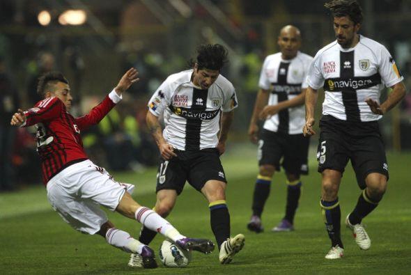 El Parma se sintió tocado con el resultado y salió con todo en el segund...