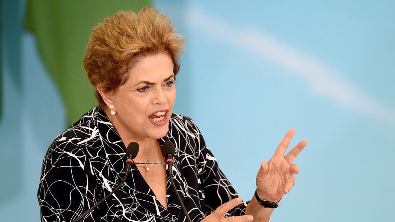 Esta misma semana, Rousseff puede ser destituida de la presidencia