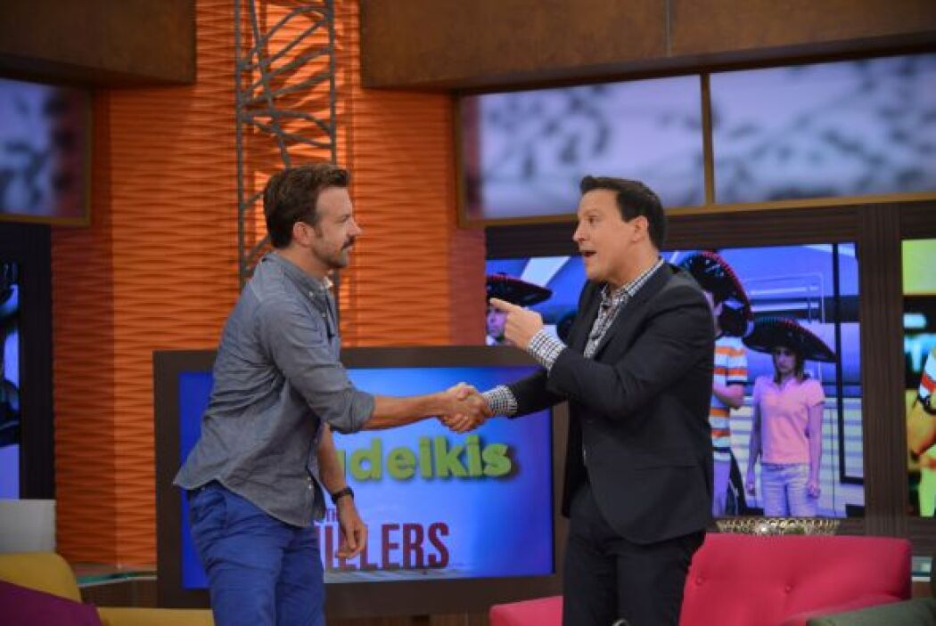 Raúl invitó a Jason Sudeikis a volver pronto a la casita de Despierta Am...