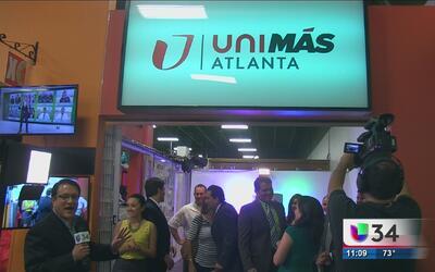 Univision 34 Atlanta estrena estudios en Plaza Fiesta