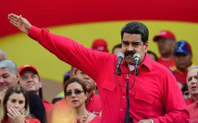 Maduro lanzó amenazas en víspera de la huelga general conv...