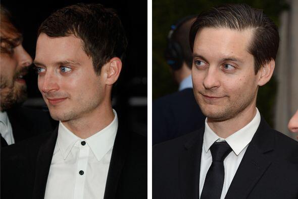 OMG! Elijah Wood y Tobey Maguire parecen gemelos.  Aquí los videos más c...