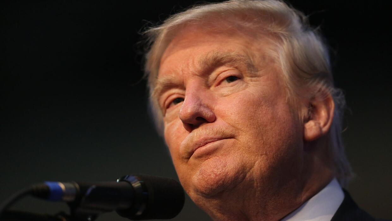 Donald Trump, candidato presidencial del Partido Republicano.