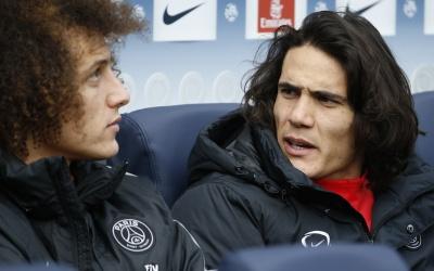 Cavani y Luiz no desean volver a París