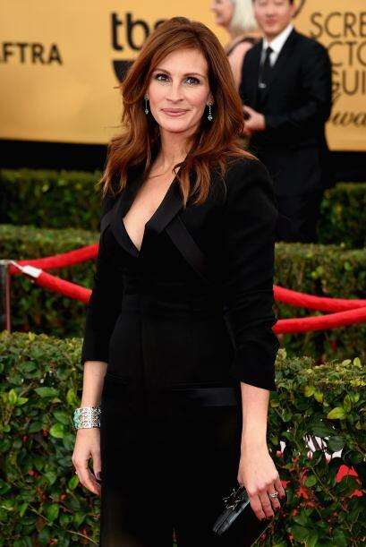 Julia Roberts, súper formal.