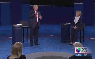 El segundo debate presidencial provoca tensión y reacciones divididas