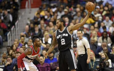 Los Spurs vencieron 112-100 a Wizards