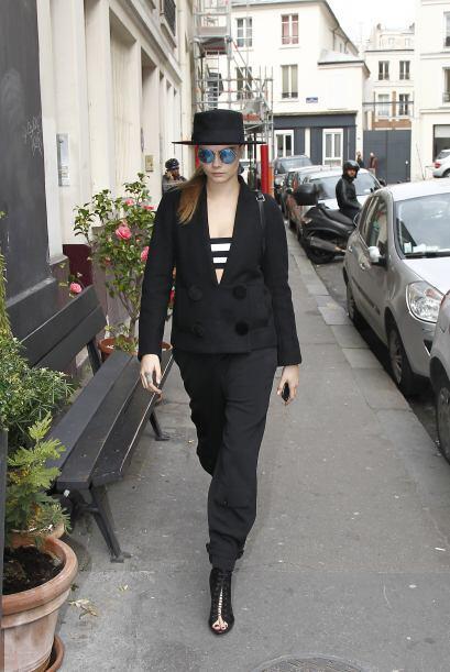 Sofisticado, casual y súper 'cool' como el de Cara Delevingne, que te ha...