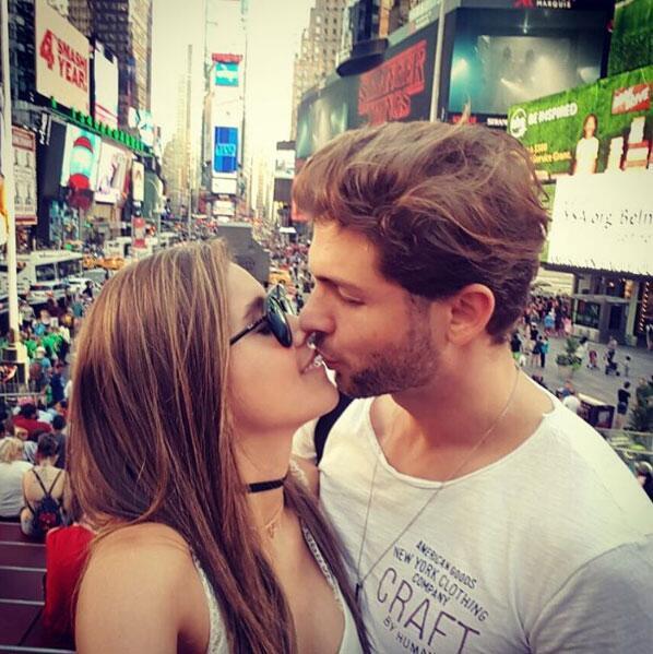 Paulina Goto y Horacio Pancheri en Nueva York