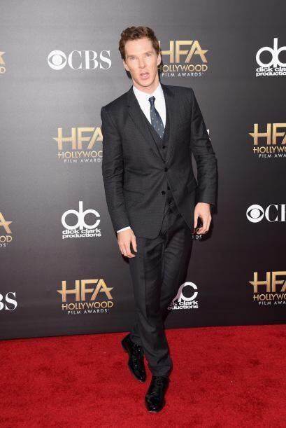 El que sabe muy bien cómo vestir para una alfombra roja es Benedict Cumb...