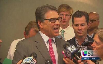Perry no descarta buscar la presidencia en 2016