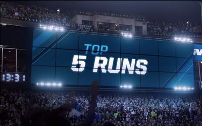 Los 5 mejores acarreos de la Semana 1 NFL