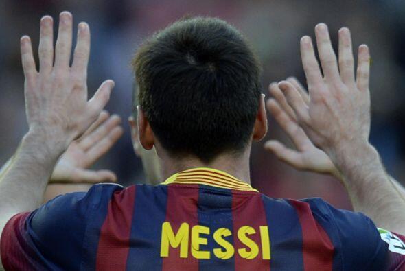 Lionel dejó su marca personal en 371 goles como barcelonista, ahora con...