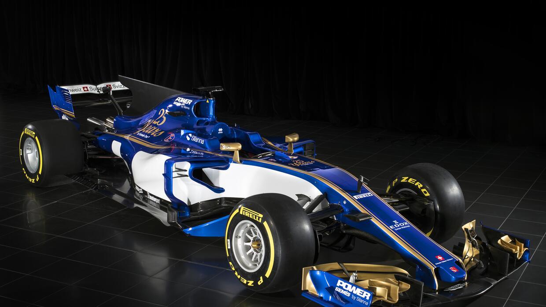 Sauber presenta su monoplaza de Fórmula 1 para 2017