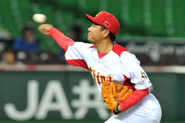 El relevista Lu Jiangang (1-0) se llevó el triunfo después...