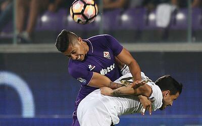 Carlos Salcedo ya debutó en la Serie A