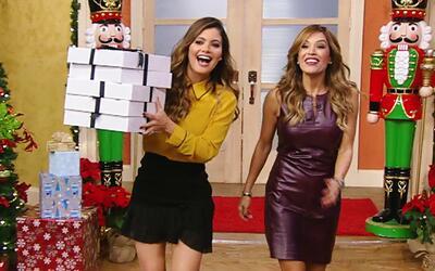 Navidad adelantada: Chiqui Delgado llegó a Despierta América con regalos...