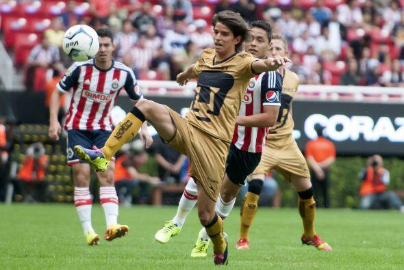 Los últimos partidos entre Pumas y Chivas se caracterizarían por ser cer...