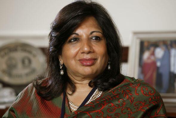 92.- KIRAN MAZUMDAR-SHAW: Presidenta de Biocon Limited, una compañía de...