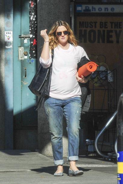 Drew Barrymore ya nos tiene acostumbrados a sus 'fachitas' en días de de...
