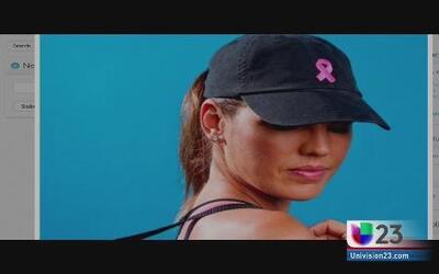 Diseñan gorras para mujeres y a favor de la lucha contra el cáncer de seno