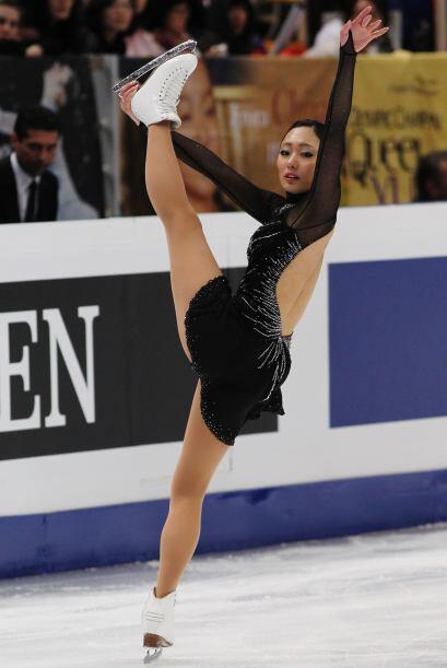 La estrella de la competición; la hermosa japonesa Miki Ando dura...