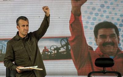 EEUU sanciona al vicepresidente de Venezuela por sus supuestos vínculos...