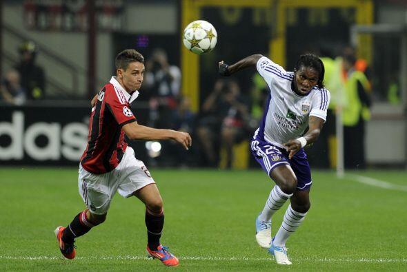 Milan esperaba levantar cabeza luego de sus traspiés en la Champions Lea...