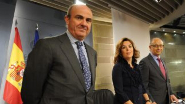 De Guindos apuntó que las primeras entidades que iniciarán el traspaso s...