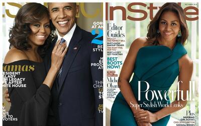 Michelle Obama protagoniza dos revistas este mes, solo dos más pa...