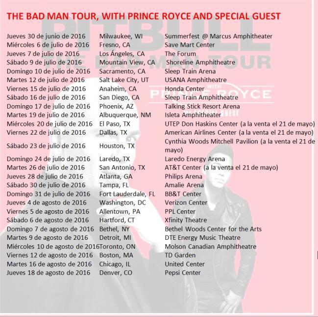 Pitbull Prince Royce