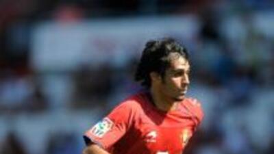 Alejandro Arribas hizo el gol del triunfo de Osasuna.