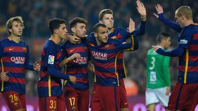 El FC Barcelona humilló al Villanovense