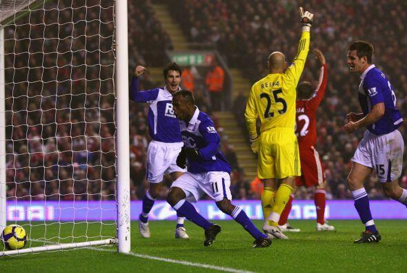 El primer gol de Christian en la Premier se dio ante el Liverpool, aport...