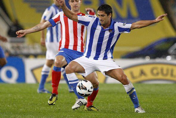 Los vascos fueron una dura prueba para el Atlético.