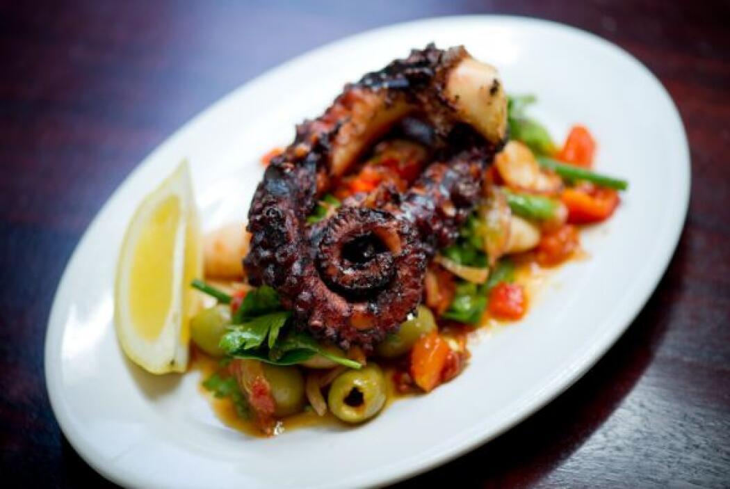 También en Michael´s Geniune Food, se puede disfrutar de un pulpo perfec...